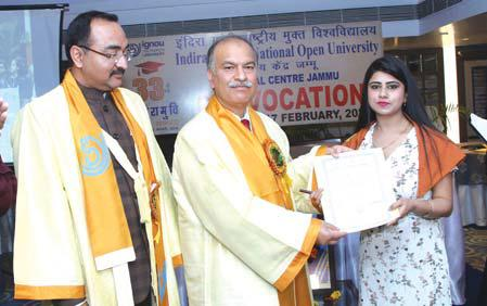 Ignou Organizes 33rd Convocation Youngbites